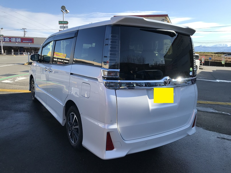 トヨタ-ヴォクシー-安い-キラメキ-新車-納車-福井-富山