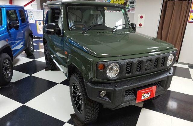 ジムニー-米軍-ミリタリー-リフトアップ-JB64-ラインX-新型-スズキ
