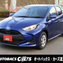 トヨタ-ヤリス-新型-新車-即納-富山-値引き