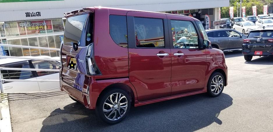 新型 タント 新車 未使用車 新古車 お得 価格 安い