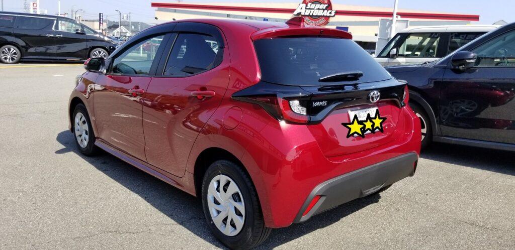 新型 ヤリス トヨタ yaris 価格 納車 新車 未使用車